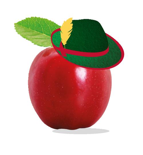 Bazqet appel met hoed