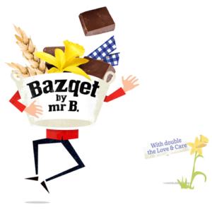 Bazqet Mr B. met chocola