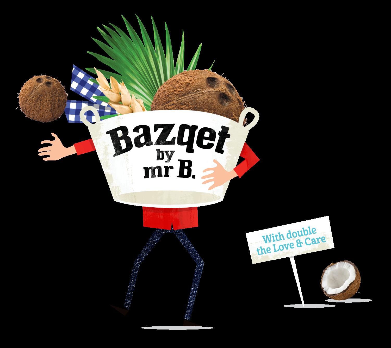 Bazqet Mr B. kokosnoot