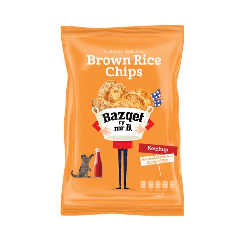 Bazqet Brown Rice Chips Ketchup