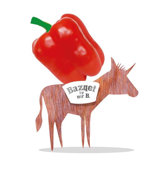 Bazqet ezel met paprika