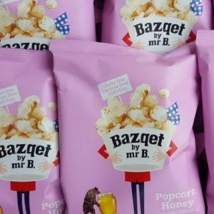 Popcorn Honing verpakking