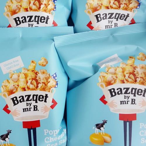 Popcorn Kaas Zeezout verpakking