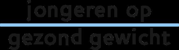 Jongeren op gezond gewicht logo