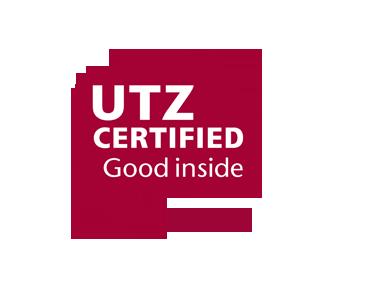 UTZ gecertificeerd logo